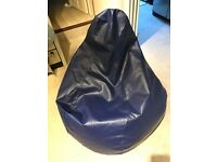 Beanbag gamer arm chair adult x large seat pod bags faux leather