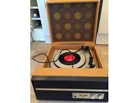 DANSETTE VINTAGE 1960s RECORD PLAYER model DRP20