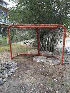 Hockey Net and Shooting Sheet