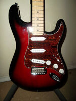 Fender Standard Series Strat Like New with Set Up and Gig Bag