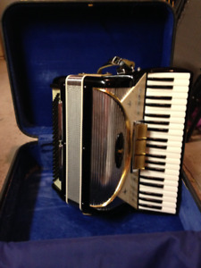 Accordian with case