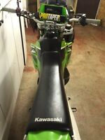 2004 KX 500 2-Stroke in literally brand new condition