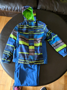 Rain jacket and splash pants