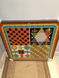 Old Eagle Toys Game Table Top