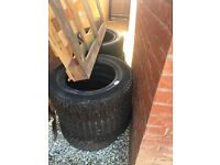Unwanted tyres