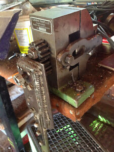 Lead Came Milling Machine - hand crank