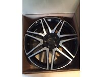 Mercedes 18 AMG Twin Spoke Sport Plus alloy wheels