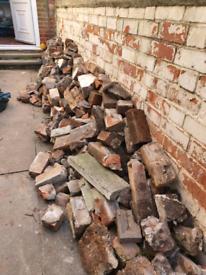 Bricks and concrete slabs *FREE*