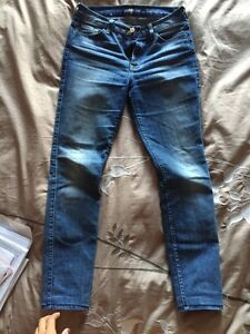 7 for Mankind high waisted skinnies