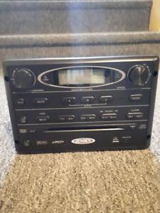 Jensen AWM965 Black AM/FM CD/DVD Player Wall Mount