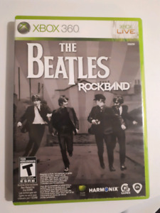 The Beatles rock band xbox 360