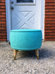 Repose Pieds Mid Century Gonflable 1950 - 1960