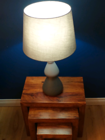Grey Pagazzi Table Lamp