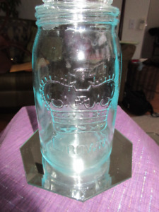 Vintage Crown Mason Jar - Made in Canada