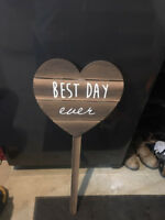 """Best Day Ever""  sign"