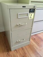 2 & 4 Drawer Verticle Filing Cabinets