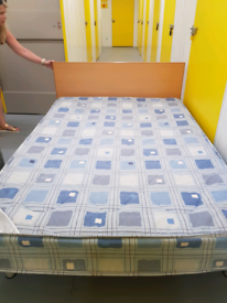 Muji Double Bed with mattress ( low style)