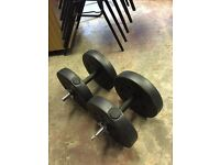 Weight training dumbbells 20kg
