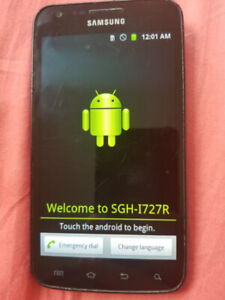 Samsung S2 LTE locked to rogers 16gb