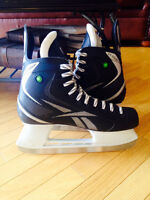 Ice Hockey Skates - Reebok XT COMP - Used Once - Shoe Size 12