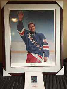 "Wayne Gretzky ""The Great Farwell"" limited edition"