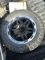 Spare tire on aftermarket rim!