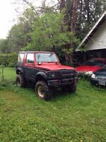 TRADES FOR 4x4 ATV  Lifted 1984 Suzuki