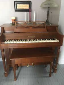Apartment size piano