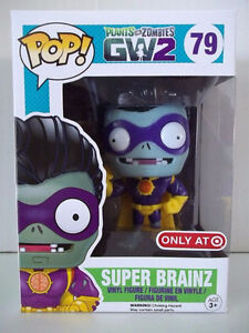 Funko Pop Plant Vs Zombies Super Brainz
