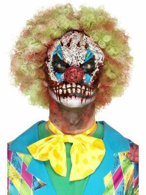 Erwachsene Scary Horror Clown Kopf Prothetische Maske Make Up Kostüm Halloween