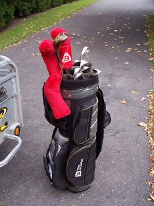 Ensemble de golf pour hommes gaucher + chariot