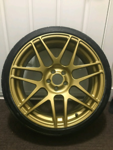 Rims and tires 18x8.5