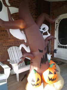 Halloween Inflatable decoration - Ghosts and Pumpkins