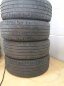 Tires used 4 , 265 60 r18