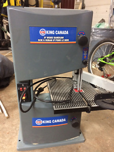 """Price Reduced: Almost New 9"""" King Wood Bandsaw"""