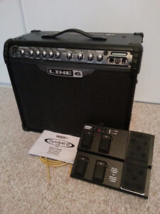 Line 6 Spider III 75 watts with FBV Express pedal