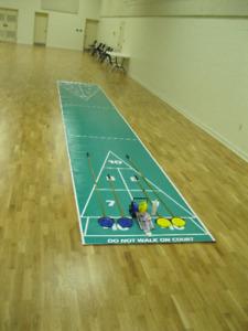 Indoor Shuffleboard Game