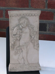 Cast French 18th Century Bas Relief Depicting a Draped Cherub Peterborough Peterborough Area image 1