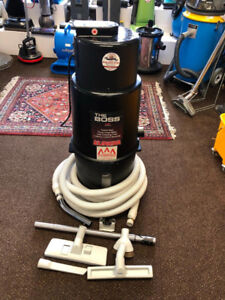 2 Year Warranty Eureka Central Vacuum With Complete Attachments