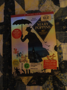 Mary Poppins - 40th Anniversary Edition (DVD 2-Disc Set) Reduced