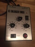 Saunders IC enlarger timer mint equipment photo