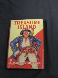 antique TREASURE ISLAND 1924 Robert Louis Stevenson