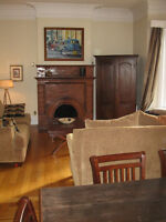 Beautiful 2 level apartment on Germain Street