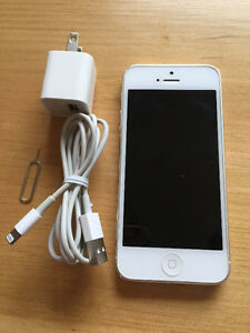 iPhone5, Factory Unlocked, 64G, White