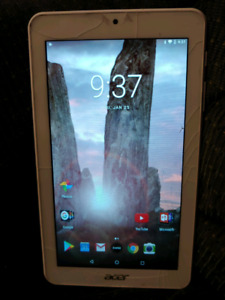 """acer iconia 7"""" tablet"""