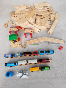 Train bois Thomas