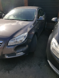 Breaking spares parts Vauxhall insignia 2009