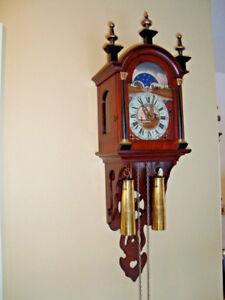 Vintage Dutch Staart Schippertje Clock