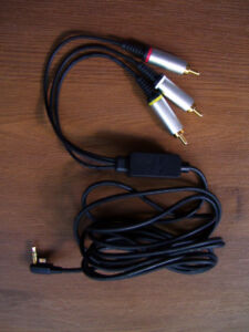 Sony PSP Power Supply, AV Cable