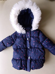 Baby girl winter spring coat 6-12 months